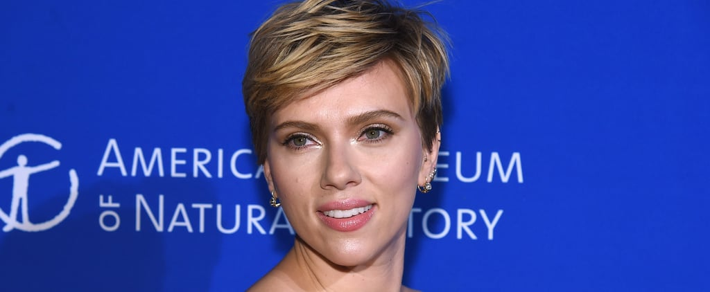 Scarlett Johansson's Brown Hair April 2018