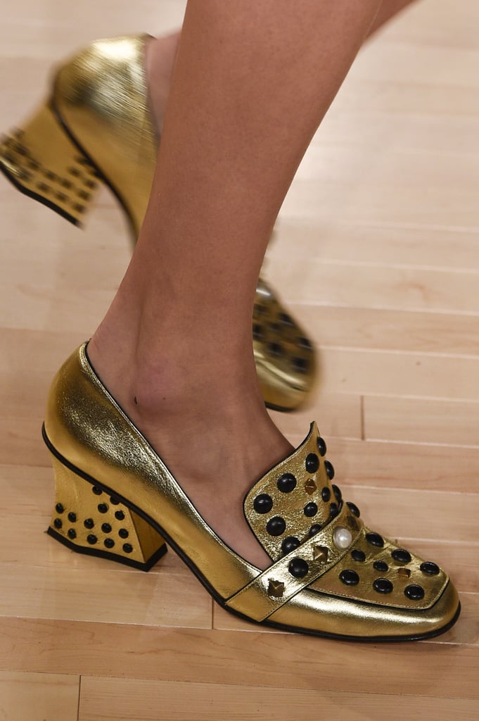 And the Ones at Coach Were Metallic and Studded