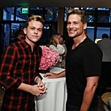 John Owen Lowe and Rob Lowe Cute Pictures