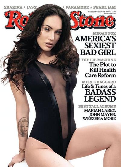 Megan Fox Admits She Cut Herself