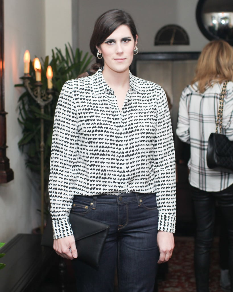 Laura Mulleavy at W magazine's Golden Globes party.