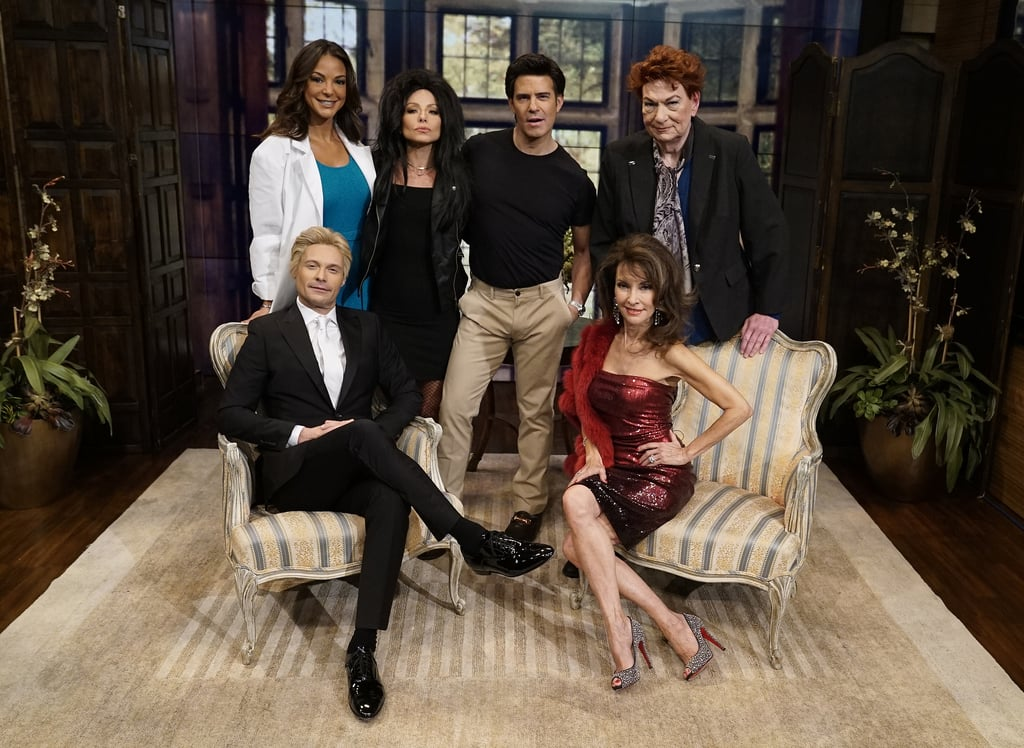 The Live's Best Halloween Show Ever: the ReBOOOt guests flash a few smiles at the camera as the cast of All My Children.