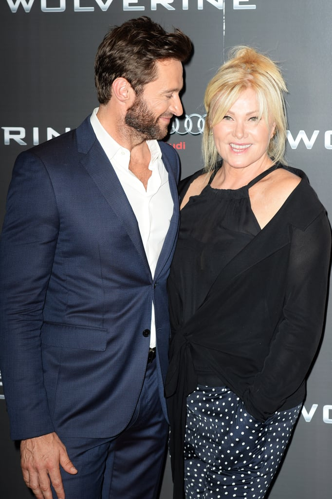 There's nothing that makes Hugh Jackman smile bigger than his wife, Deborra-Lee Furness. The Logan star first fell for the actress while working one of his first acting jobs, the Australian TV show Correlli, and has been smitten ever since. In April 1996, the pair tied the knot at St. John's in Toorak, Victoria near Melbourne, and together they have two adopted children, Oscar, 17, and Ava, 11. After more than two decades of marriage, the two keep raking in precious moments whenever they're together. See some of their sweetest appearances below.       Related:                                                                                                           Hollywood Couples Who Have Been Together the Longest
