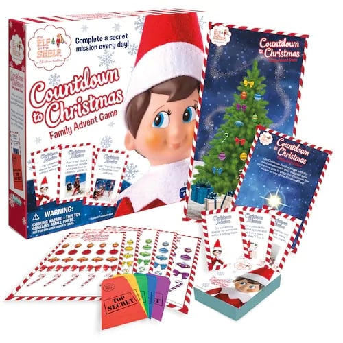 Countdown to Christmas Family Advent Game