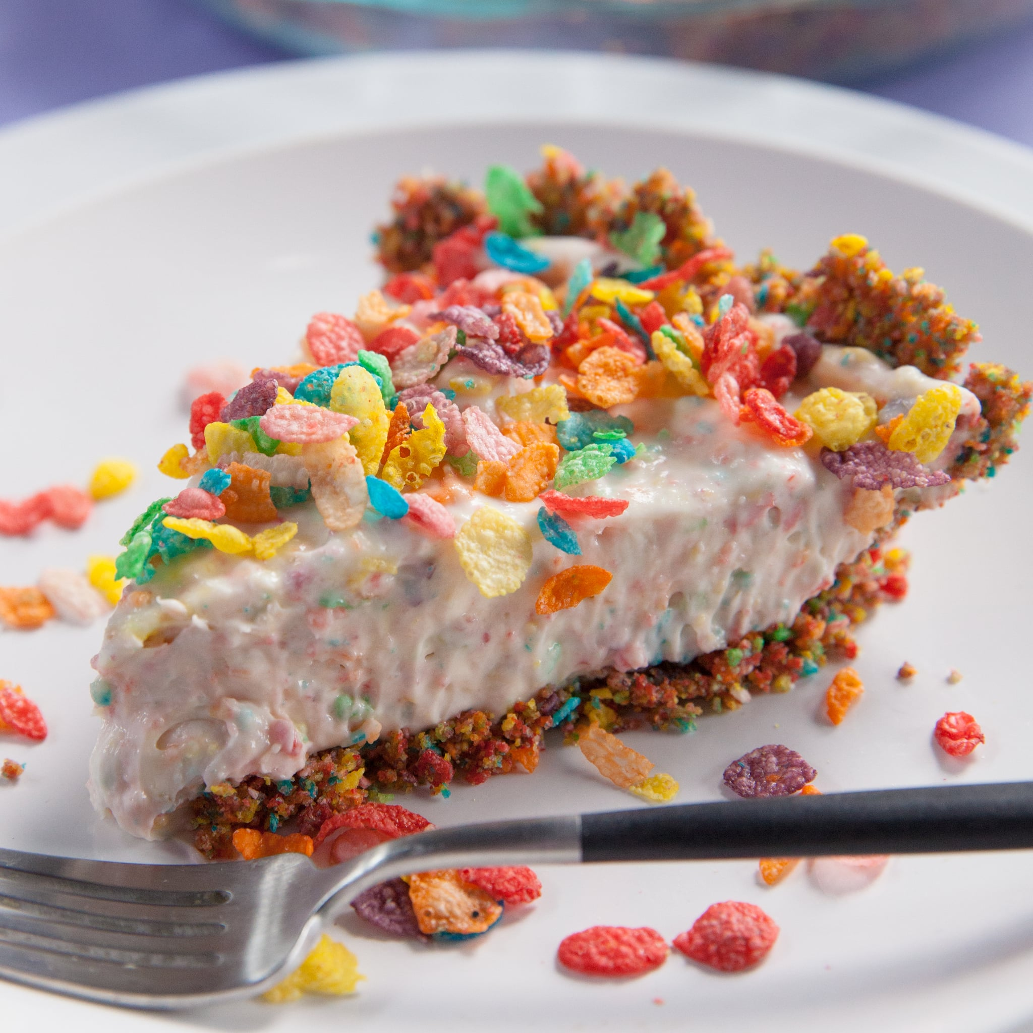 Fruity Pebbles No-Bake Cheesecake Recipe