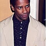 Denzel Washington at the ShoWest Festival in 1995
