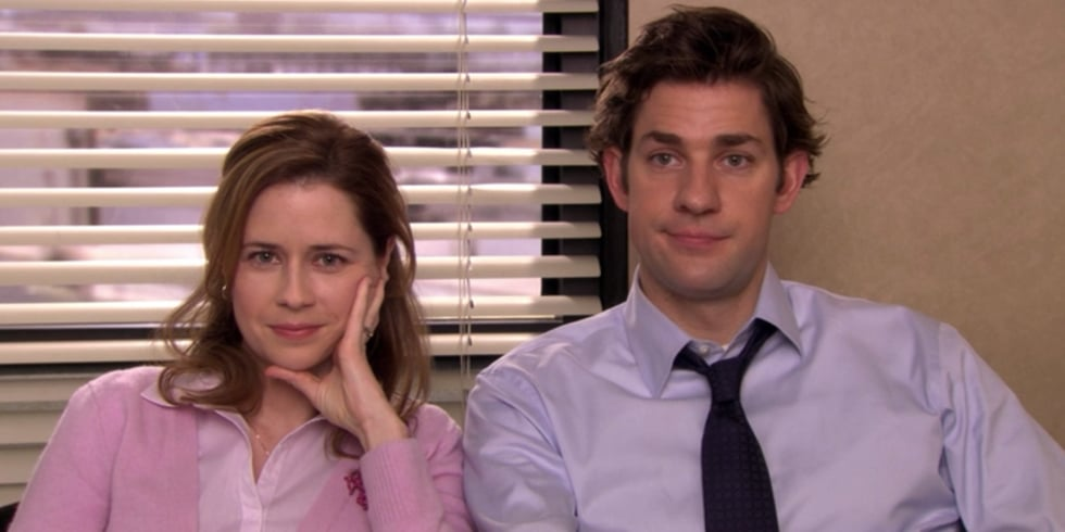 Jim and Pam in The Office GIFs