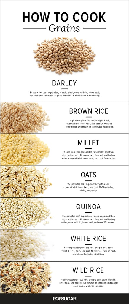 How to cook every kind of grain.