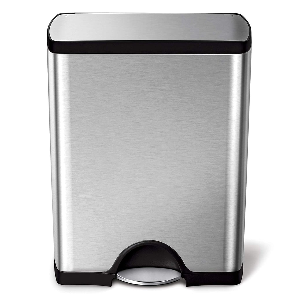Simplehuman Stainless Steel Rectangular Kitchen Step Trash Can