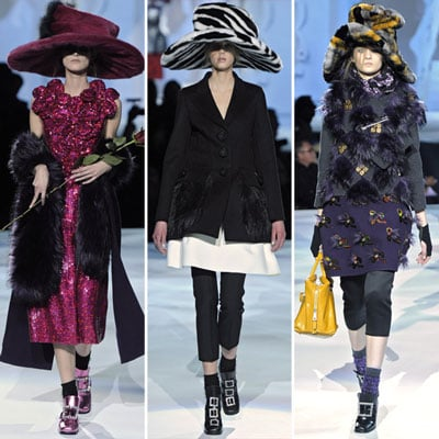 Review and Pictures of Marc Jacobs 2012 Fall New York Fashion Week Runway Show