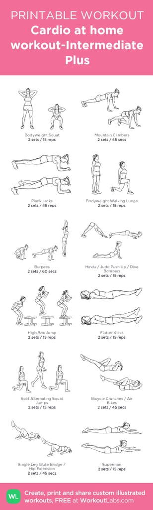 best pinterest workout posters popsugar fitness