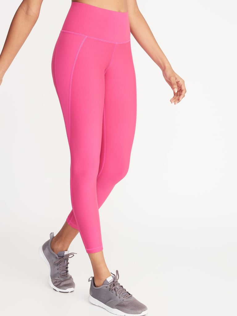 Old Navy High-Rise Elevate Built-In Sculpt 7/8-Length Compression Leggings
