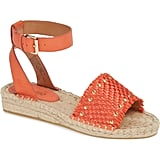 Kensie Alabama Studded Espadrille Ankle Strap Sandals