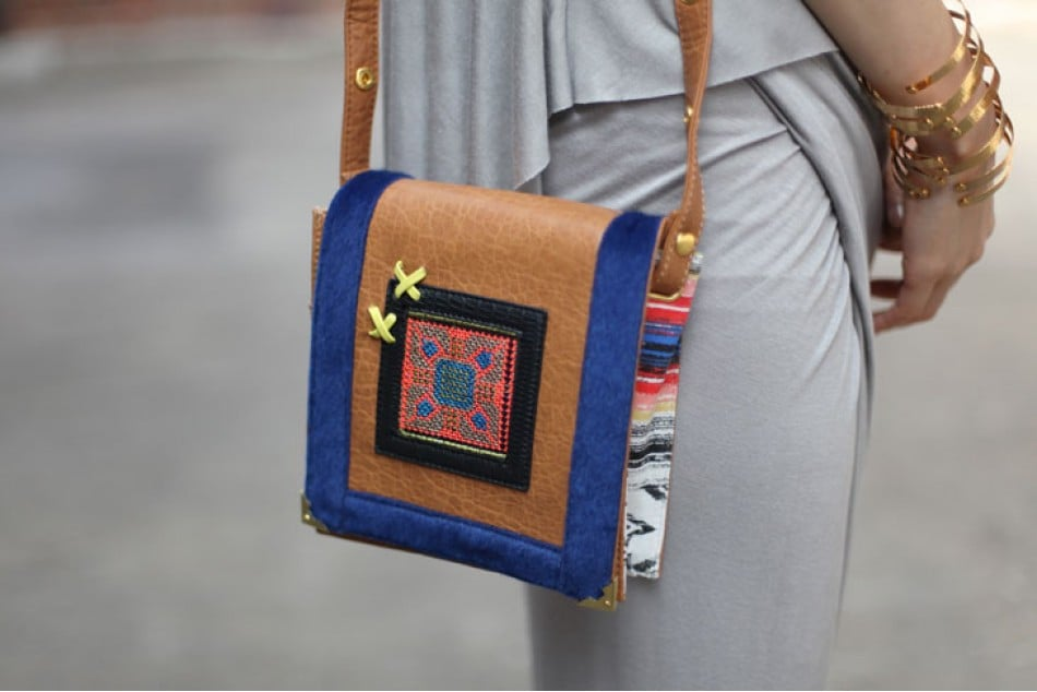 You want to keep your accessories light and easy, but we all know: the crossbody bag is a must. Keep your camera and wallet close, but don't go overboard. This printed patchwork mini is the perfect excuse to keep a lighter load and look good while doing it. Mikkat Market Print Patchwork Bag ($35)