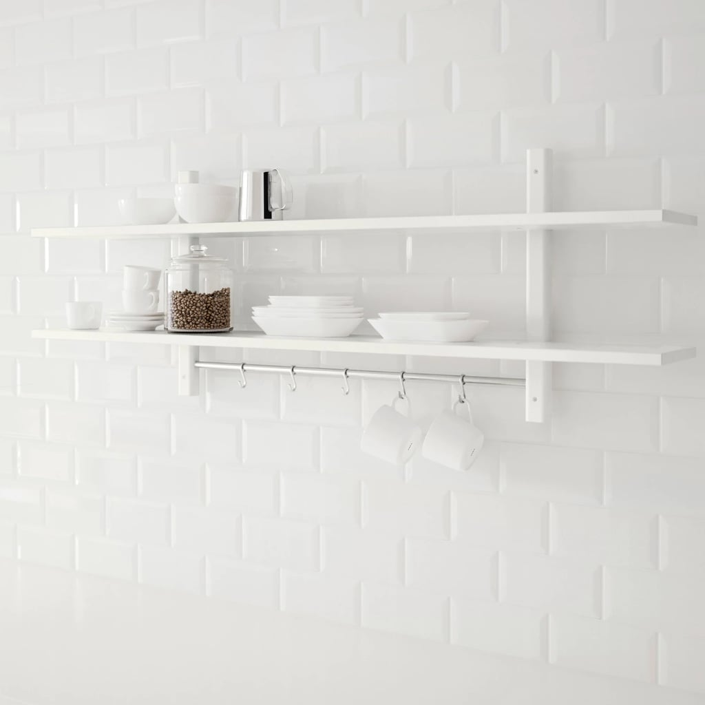Värde Wall Shelf With Hooks | 65 Space-Saving Products From ...
