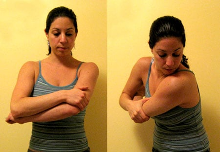 Stretch It: Pulling Elbow Deltoid Stretch