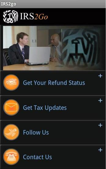 IRS iPhone App