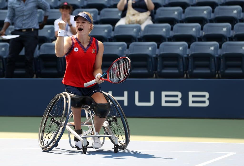 Diede de Groot Wins Golden Slam in Wheelchair Tennis