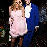 Abby Champion and Patrick Schwarzenegger as a Fembot and Austin Powers