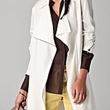Protect yourself from April showers in a lightweight jacket. We love the modern zip details on this Phillip Lim trench coat.  Phillip Lim Biker Trench Coat ($795)