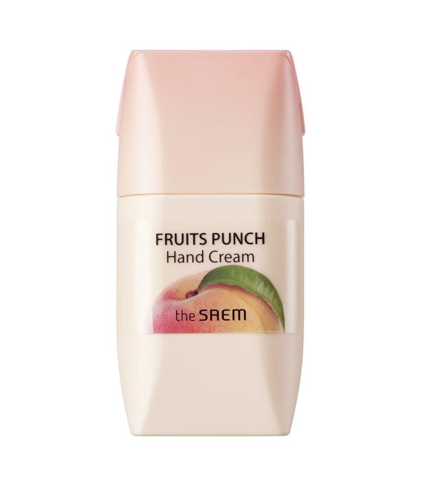 The Saem Fruits Punch Hand Cream Peach Korean Beauty Products At Thesaem Saemmul Lip Sleeping Pack