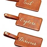Seek Explore Discover Luggage Tag Box Set ($16)