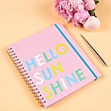 Hello Sunshine 2019-2020 Academic Planner