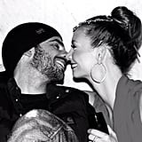 Ricki-Lee Coulter shared a sweet moment with her boyfriend Rich. Source: Instagram user therickilee