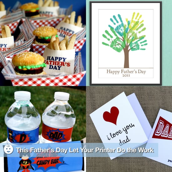 Printable Father's Day Cards and Decorations