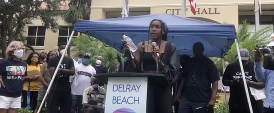 Watch Coco Gauff's Speech at Black Lives Matter Protest