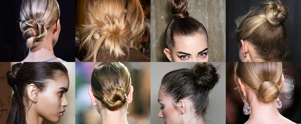 Buns and Chignons From Fashion Week