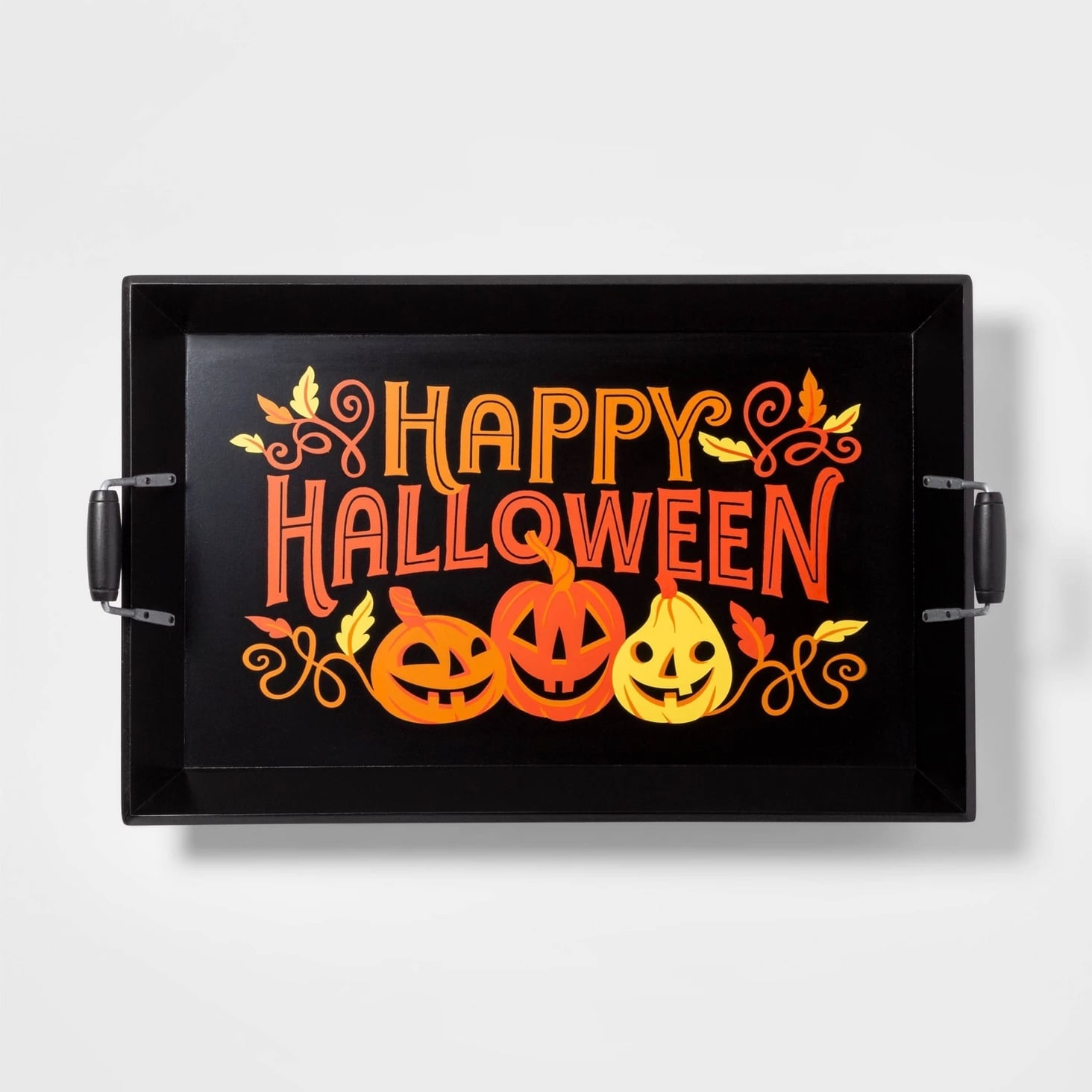 Happy Halloween Wood Serving Tray Target Has So Much