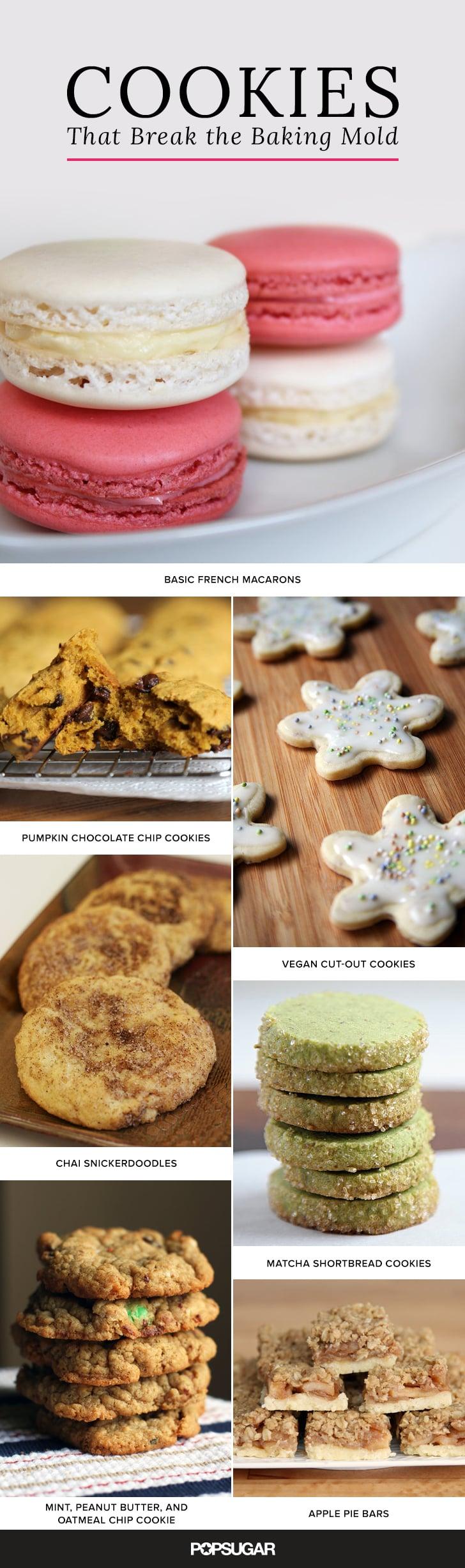 Unique cookie recipes popsugar food for Unique meals