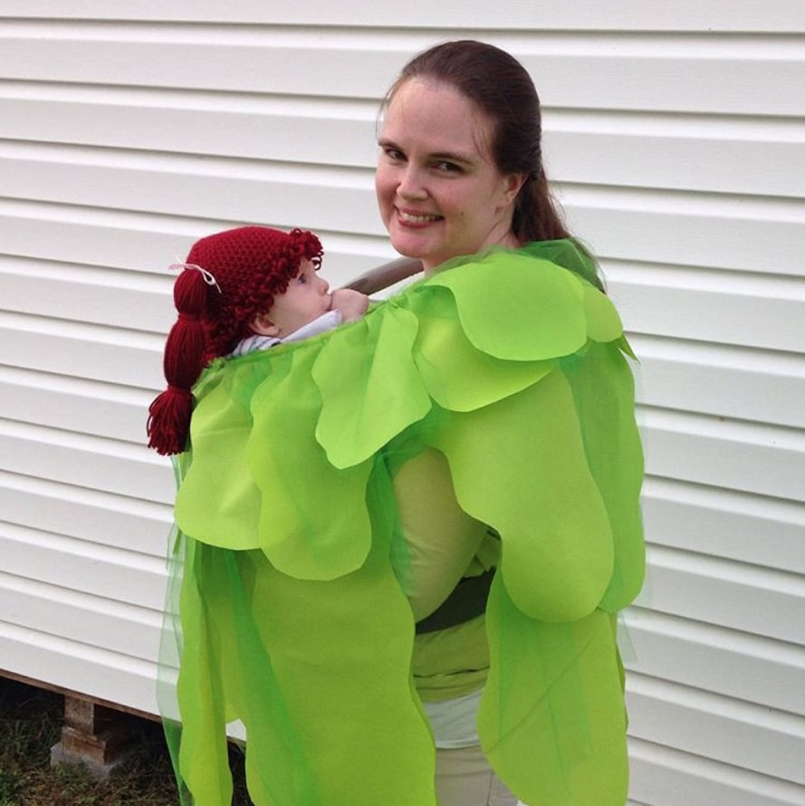 cabbage patch kid | baby carrier halloween costumes | popsugar