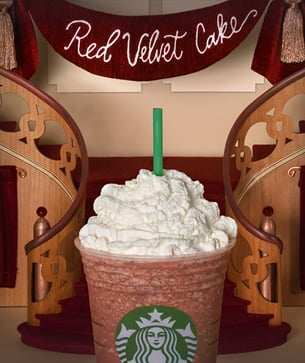 Do You Want To Try Red Velvet Cake Creme Frappuccino Blended