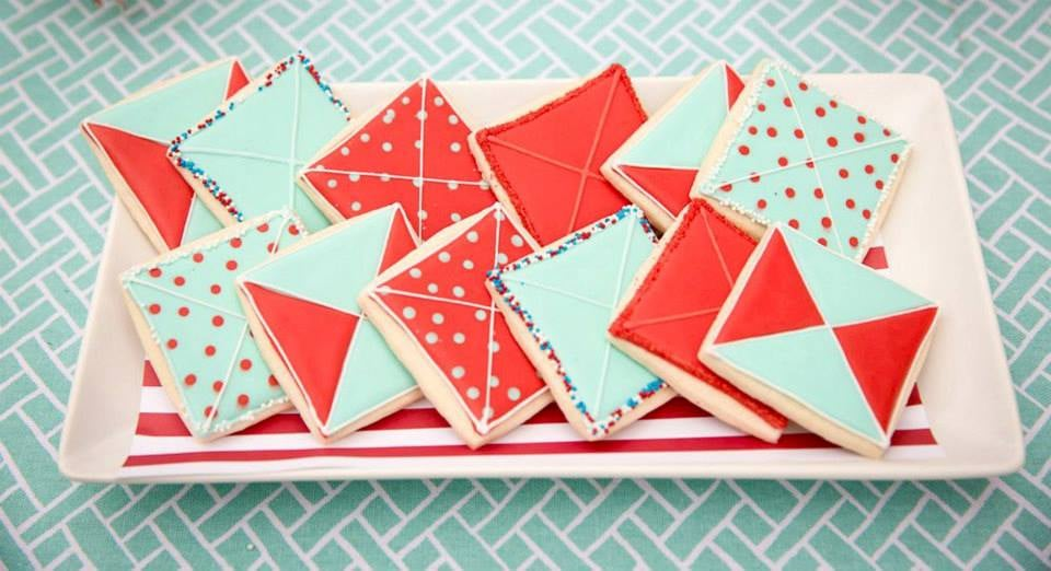 Kite Cookies