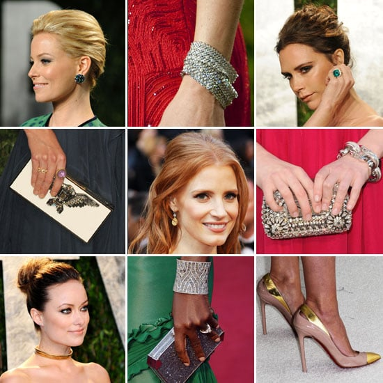 Oscars Jewelry and Accessories 2012