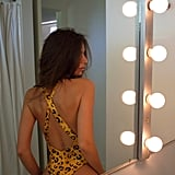 Inamorata Grandview One-Piece in Wet Leopard