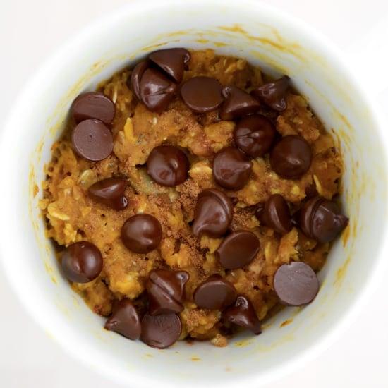 Microwaveable Mug Pumpkin Spice Oatmeal