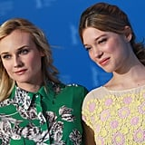 Diane Kruger and Léa Seydoux