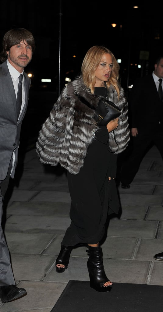 Rachel Zoe heads to a Tom Ford dinner with Rodger Berman.
