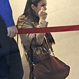 Nina Dobrev and Ian Somerhalder Leave LAX | Pictures
