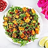 Quinoa, Sweet Potato, Pomegranate, and Lime Salad