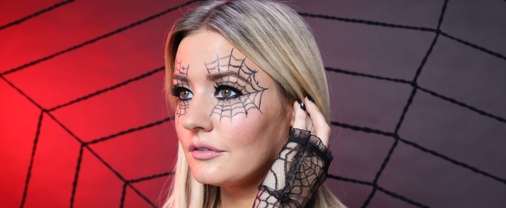 Spiderweb Makeup Tutorial For Halloween