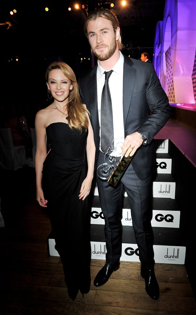 Chris Hemsworth and Michael Fassbender Win Big at the GQ Men of the Year Awards