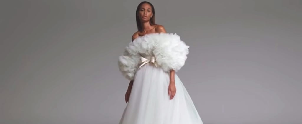 Joan Smalls Models Giambattista Valli's Couture Collection