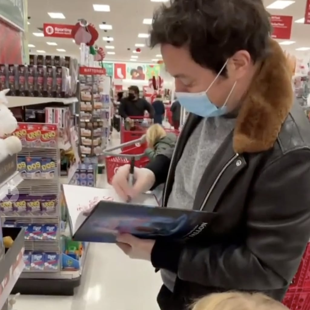 JImmy Fallon Signs Copies of His New Book in Target | Video