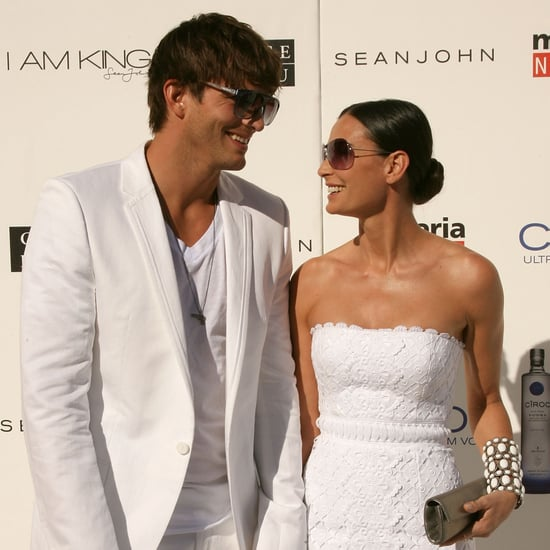 Ashton Kutcher and Demi Moore Pictures With Divorce News