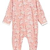 Cherry Blossom Footie ($34)