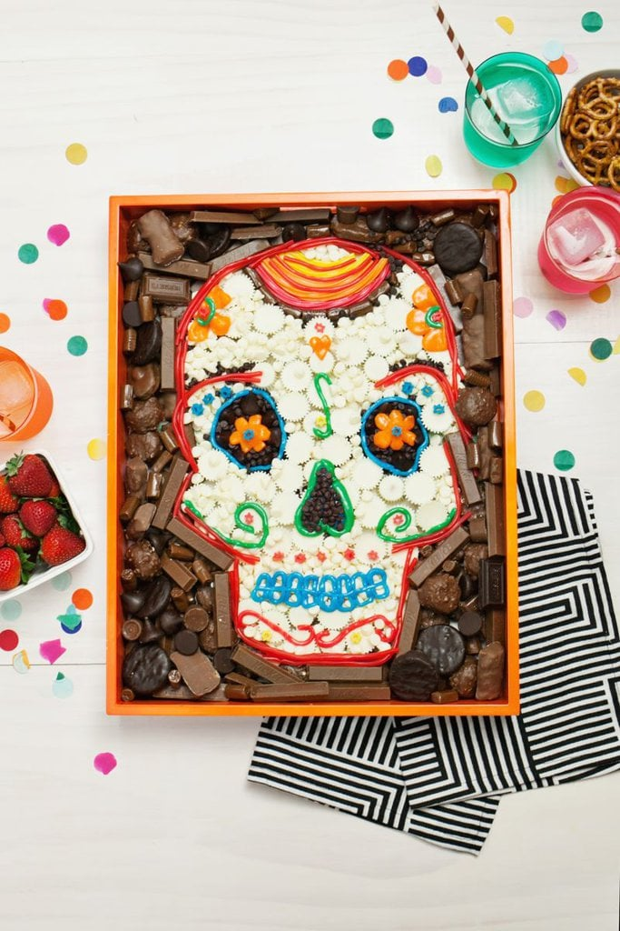 Desserts Shaped Like Day of the Dead Sugar Skulls